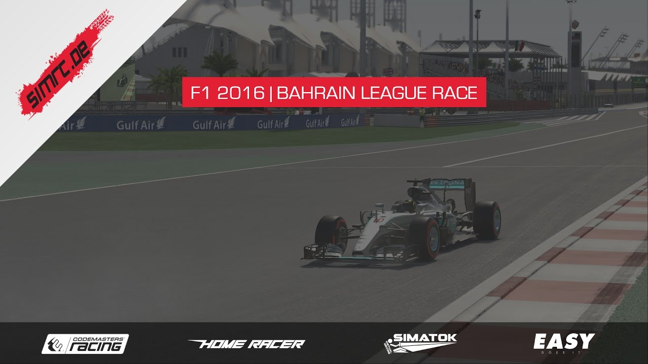 F1 2016 | SimRC League Race | Bahrain Uncut HD