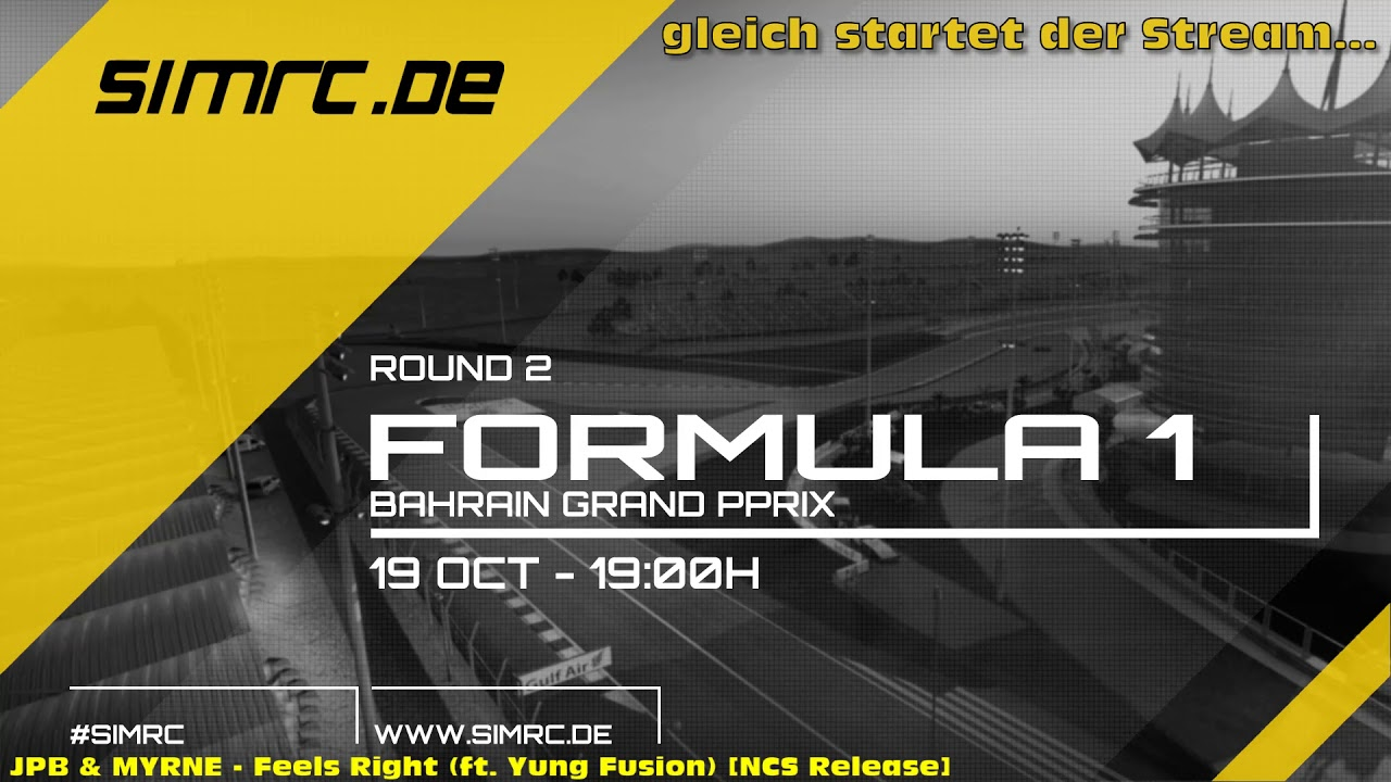 SimRC.de Friday League F1 2018 - Bahrain International Circuit, Bahrain - 19.10.2018, 19 Uhr