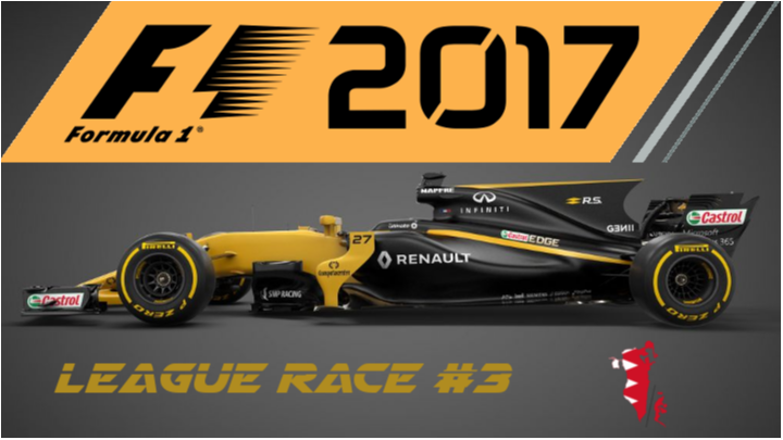 F1 2017 | SimRC.de | League Race #3