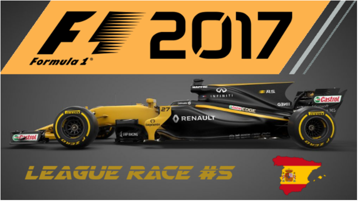 F1 2017 | SimRC.de | League Race #5