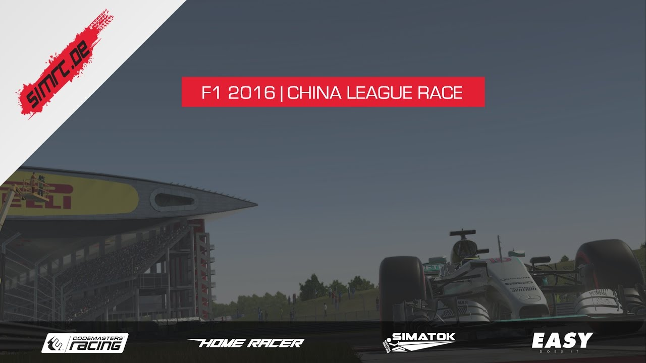 F1 2016 | SimRC League Race | China HD