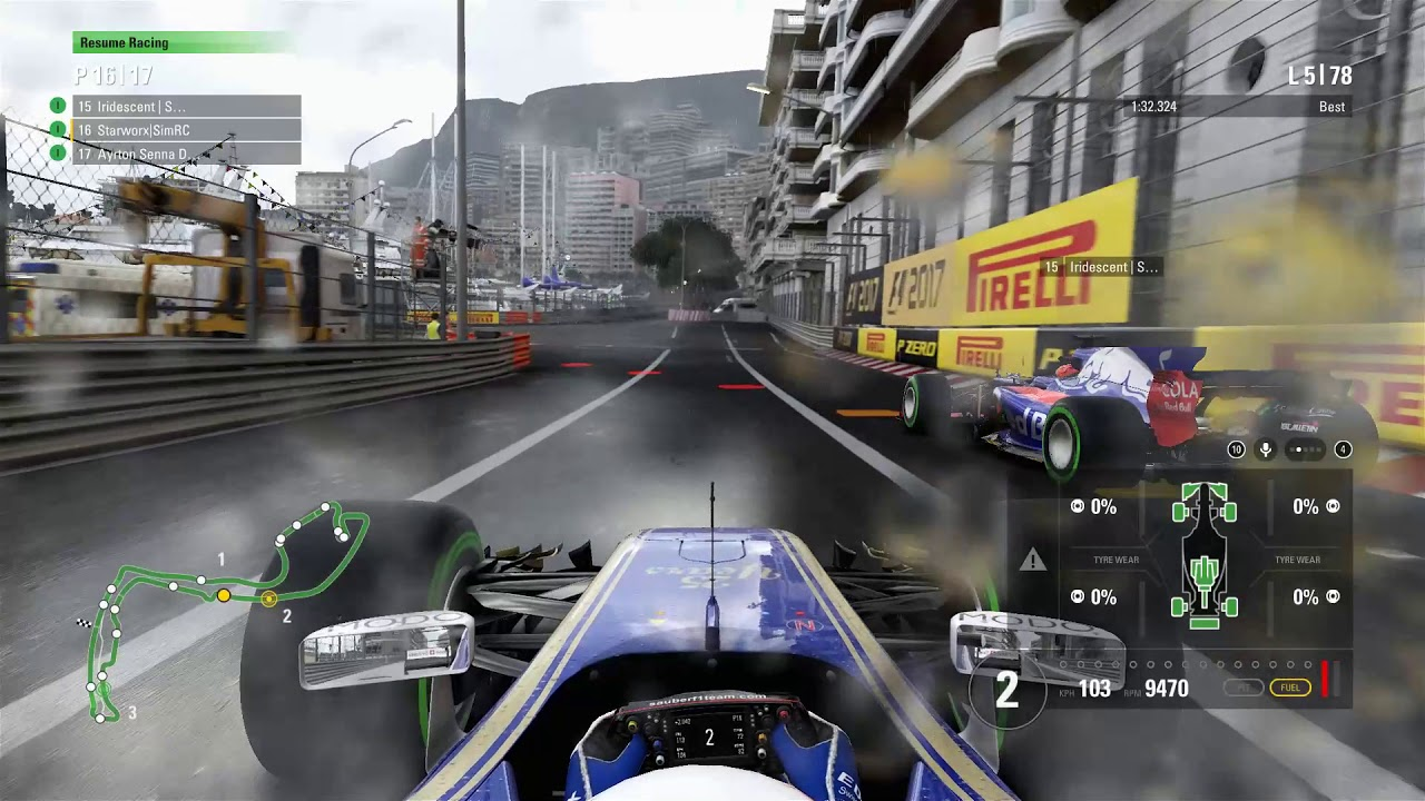 SimRace 2017.1 #6: Monaco