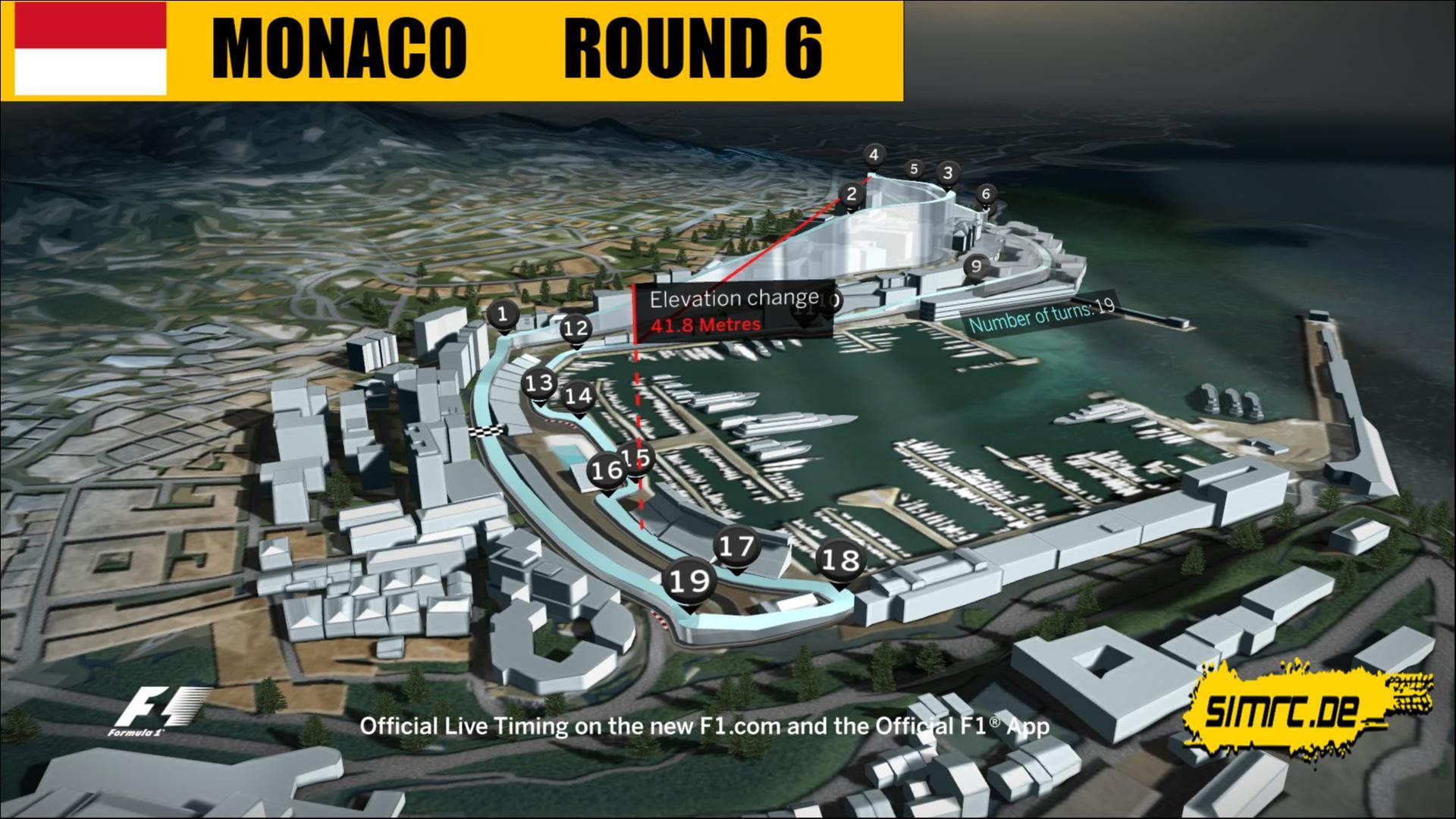 F1 2017 - Ligarennen 6 Monaco