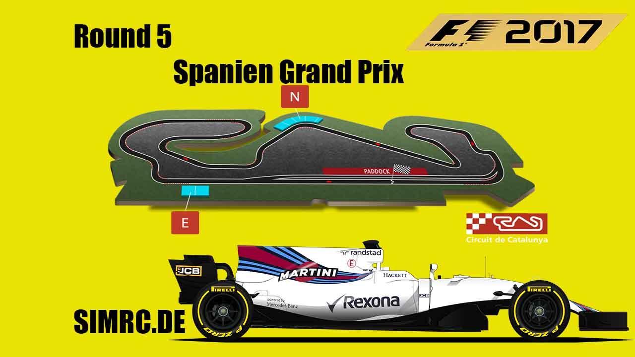 F1 2017 PS 4  Round 5 Spanien Simrc de