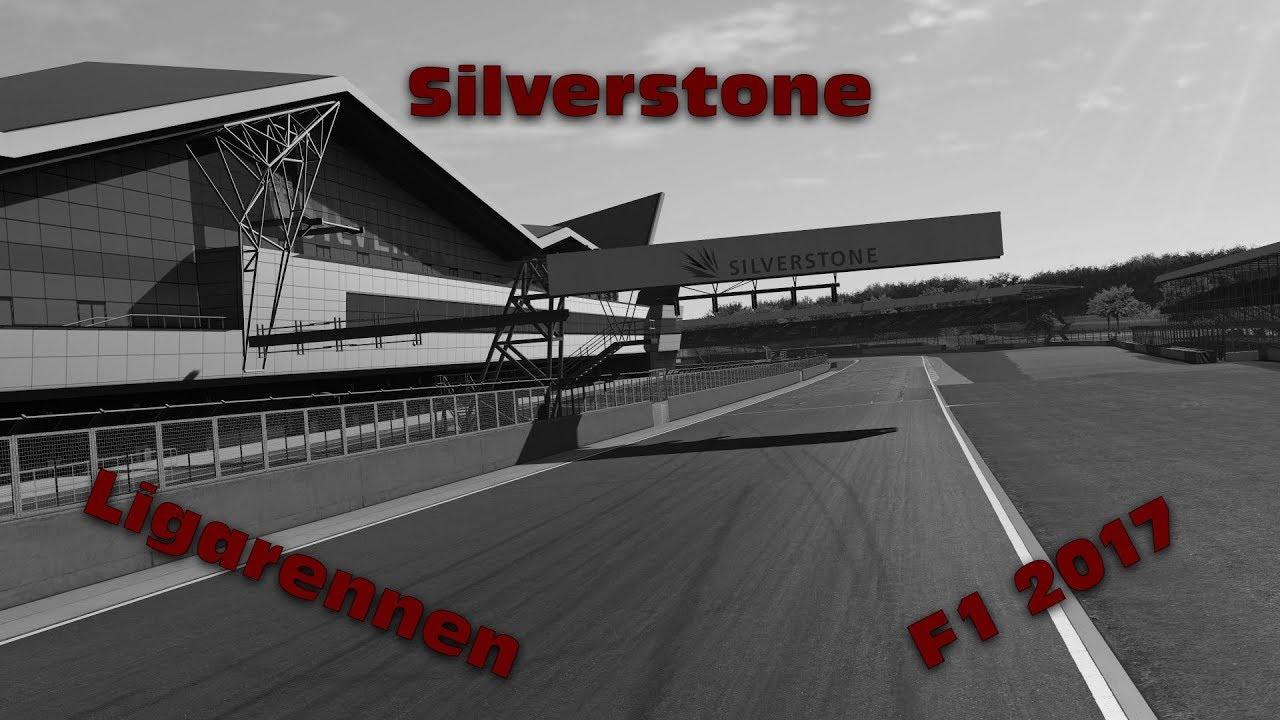 erstes Rennen | Silverstone #1 | F1 2017 | Ligarennen [GER] [HD]