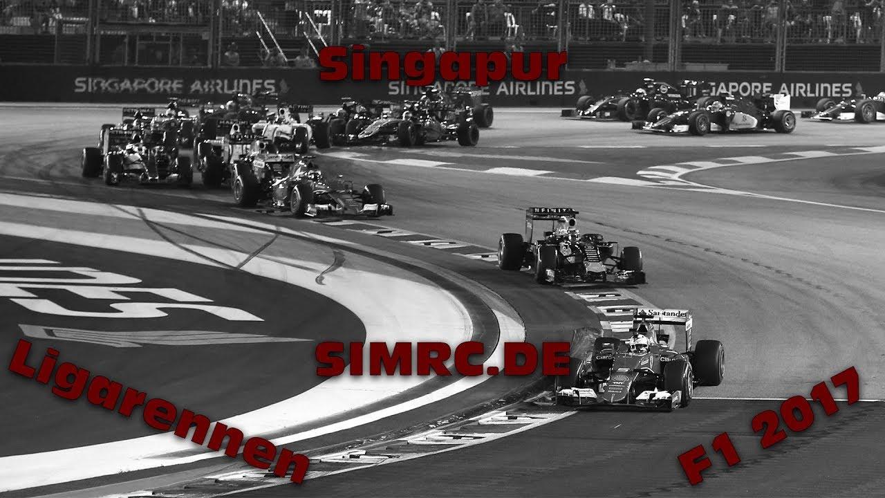cHaOz ist vorprogrammiert! | Singapur #4 | F1 2017 | Ligarennen | Simrc.de [GER] [HD]