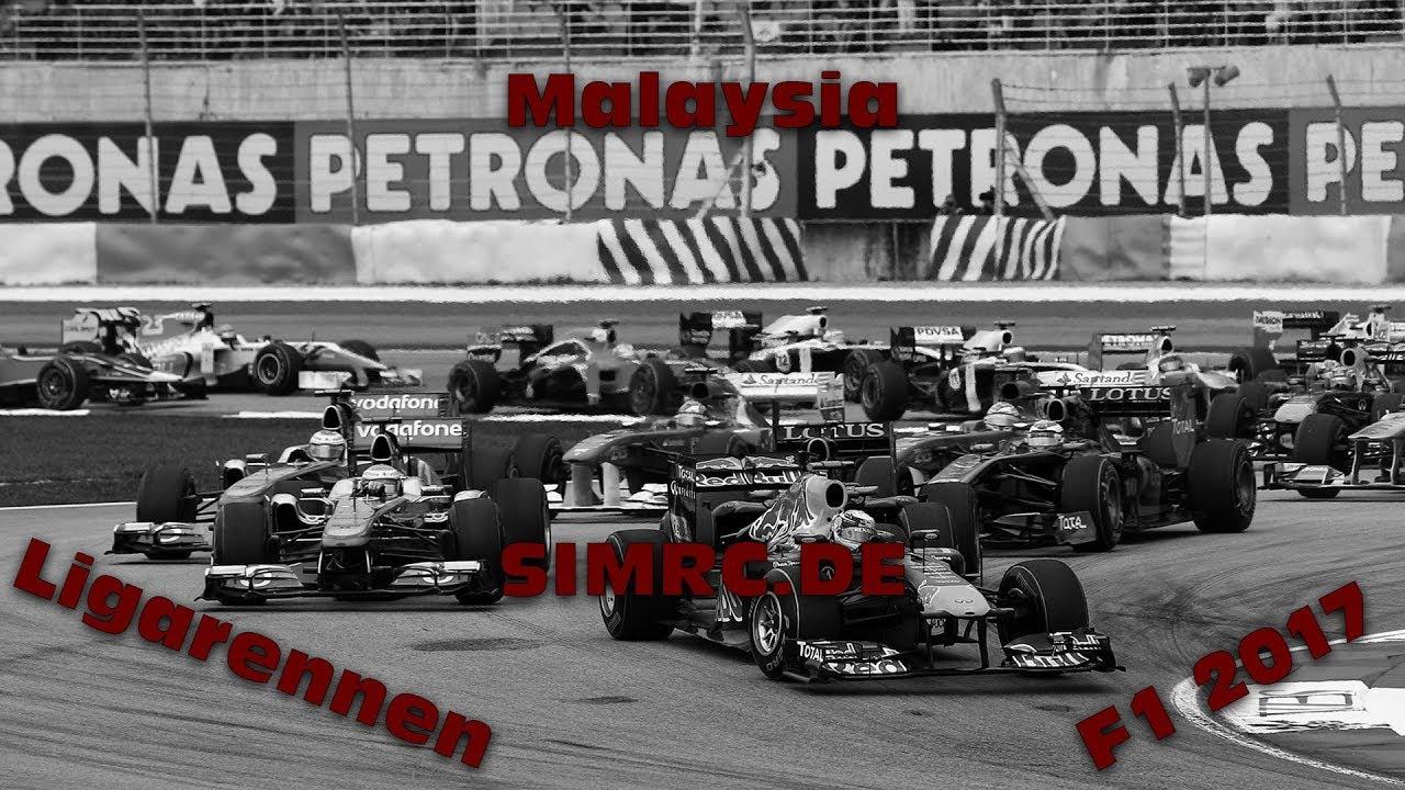 DA IST ER! | Malaysia #5 | F1 2017 | Ligarennen | Simrc.de [GER] [HD]
