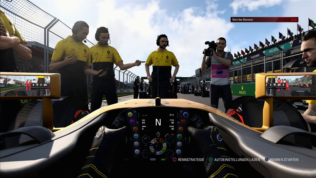 F1 2017 | SimRC League | 1. Ligarennen Australien R
