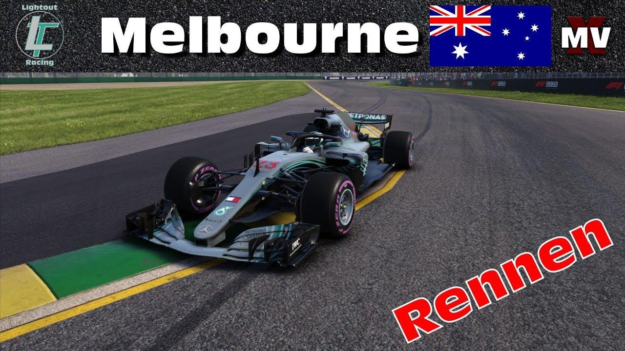 ganzes Rennen | Was ein Saisonstart!!! | Melbourne #1 | Ligarennen | Simrc.de [GER] [HD]
