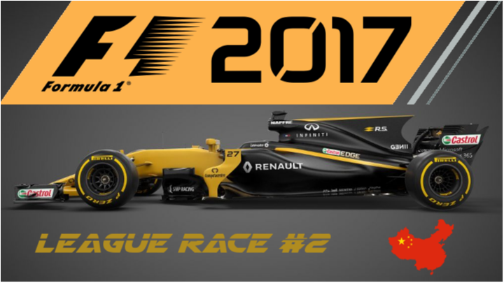 F1 2017 | SimRC.de | League Race #2
