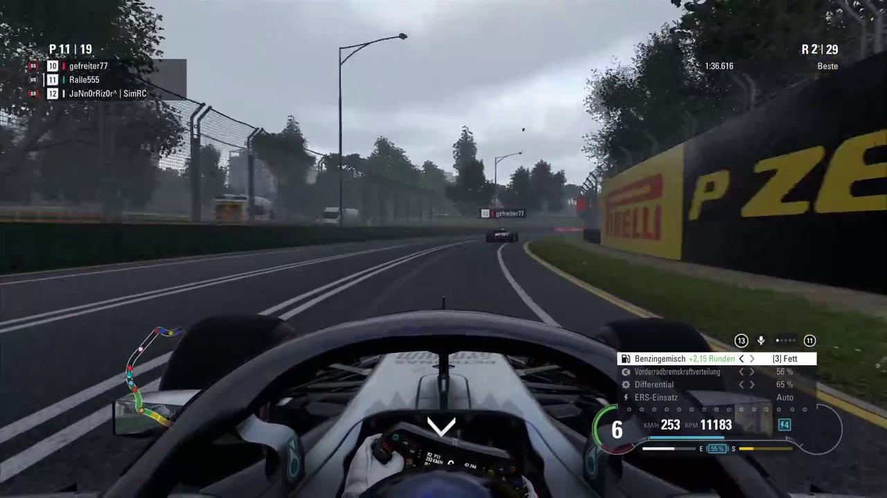 1. Rennen Australien F1 2018 RC