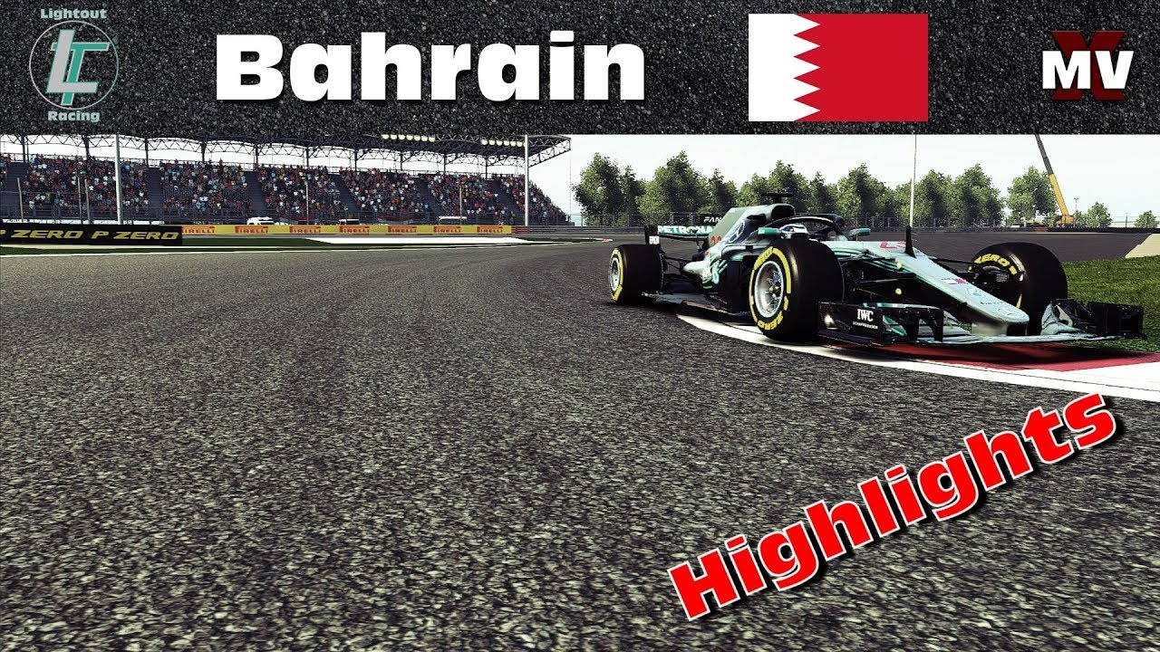 Highlights | Fail Safety-Car des Jahres! | Bahrain #2 | Ligarennen | Simrc.de [GER] [HD]